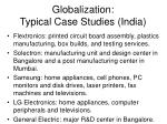 globalization typical case studies india