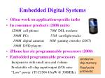 embedded digital systems