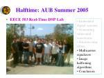 halftime aub summer 2005