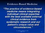 evidence based medicine15