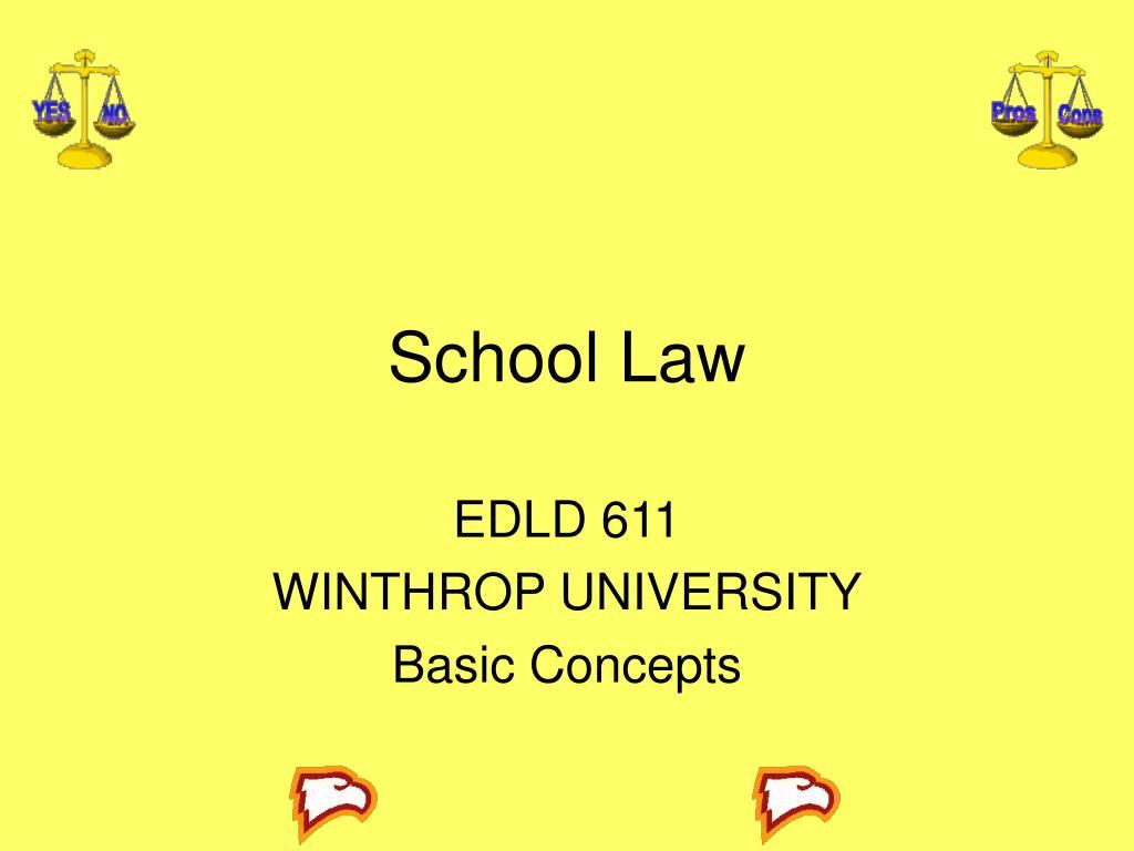 school law l.