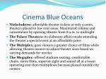 cinema blue oceans
