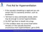 first aid for hyperventilation30