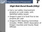 high risk rural roads hr3