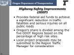 highway safety improvements hsip