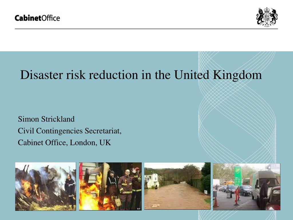 disaster risk reduction in the united kingdom l.