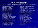 21 9 dea