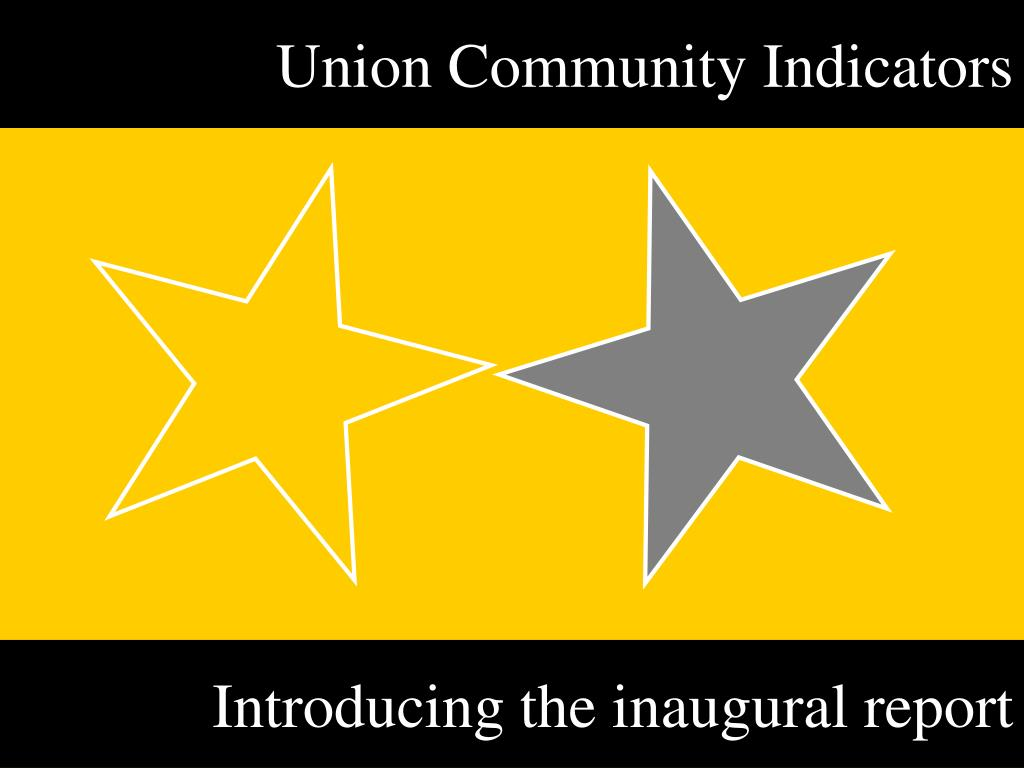 union community indicators l.