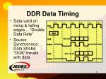 ddr data timing