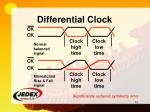 differential clock