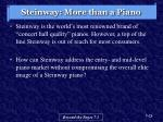 steinway more than a piano