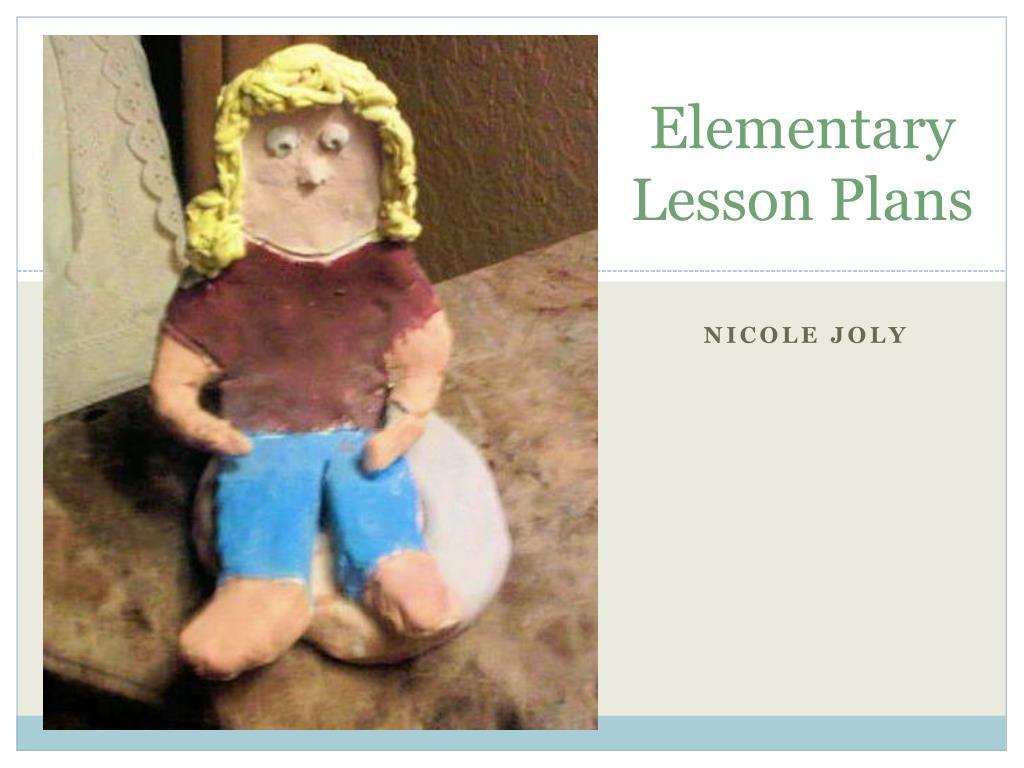 elementary lesson plans l.
