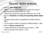 results factor analysis14