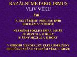 baz ln metabolismus vliv v ku13