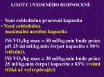 limity uveden ho hodnocen34