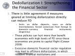 dedollarization i strengthening the financial sector14