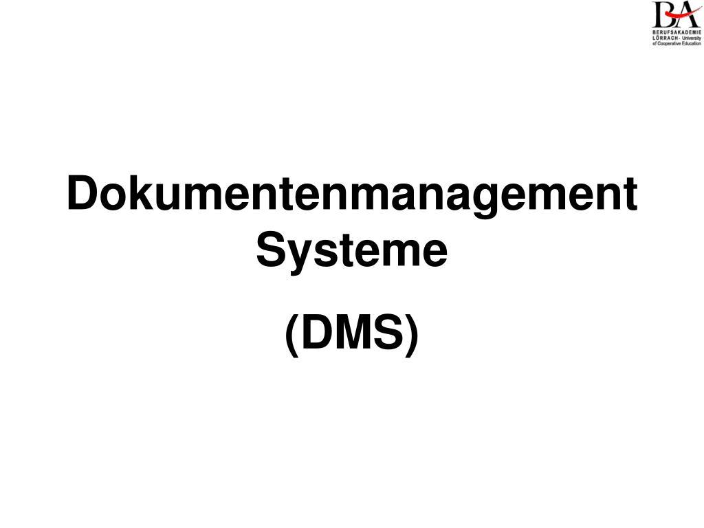 dokumentenmanagement systeme l.