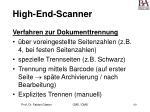 high end scanner