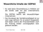 wesentliche inhalte der gdpdu165