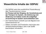 wesentliche inhalte der gdpdu33