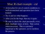 xbar r chart example ctd32
