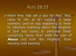 acts 28 23