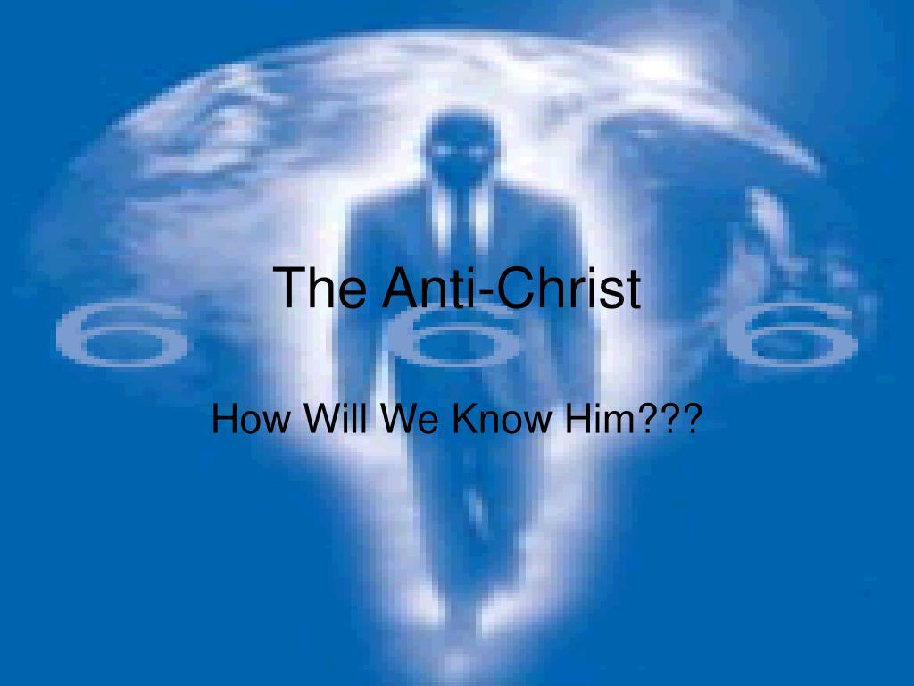 the anti christ l.