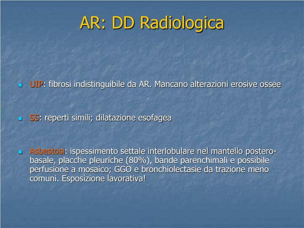 AR: DD Radiologica