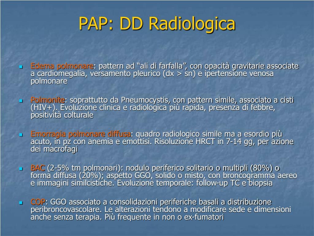 PAP: DD Radiologica