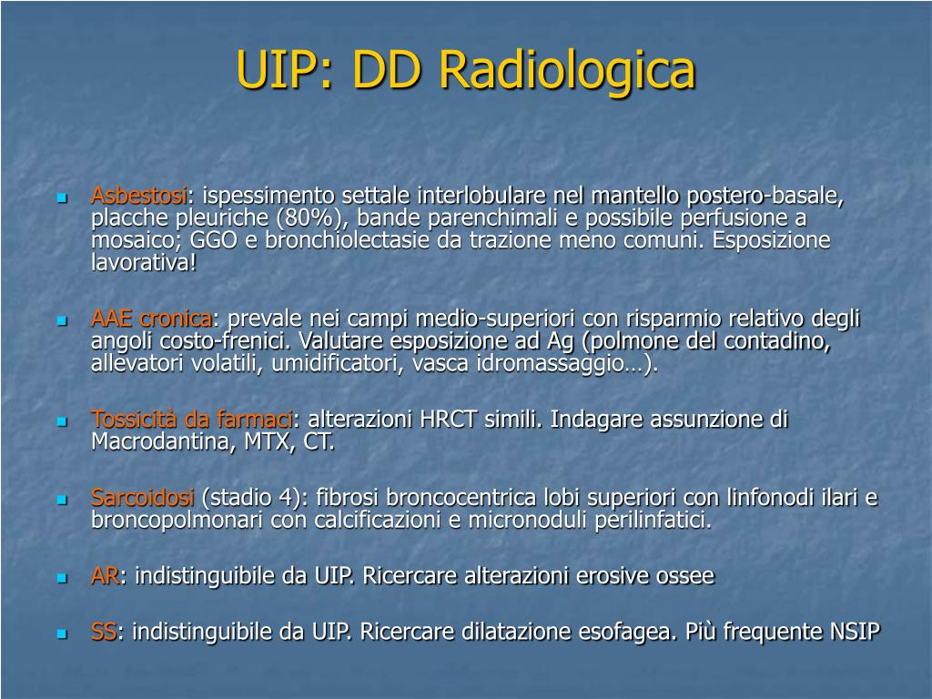 UIP: DD Radiologica