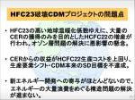 hfc23 cdm