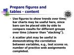 prepare figures and tables content18