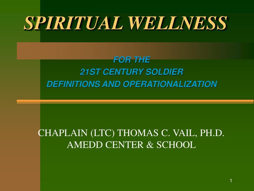 spiritual wellness l.