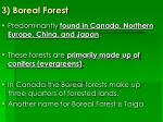 3 boreal forest