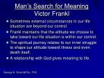 man s search for meaning victor frankl