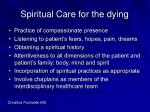 spiritual care for the dying