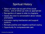 spiritual history