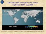 airs amsu mid tropospheric co 2 product september 2002 july 2008
