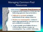 managing common pool resources2