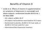 benefits of vitamin d28