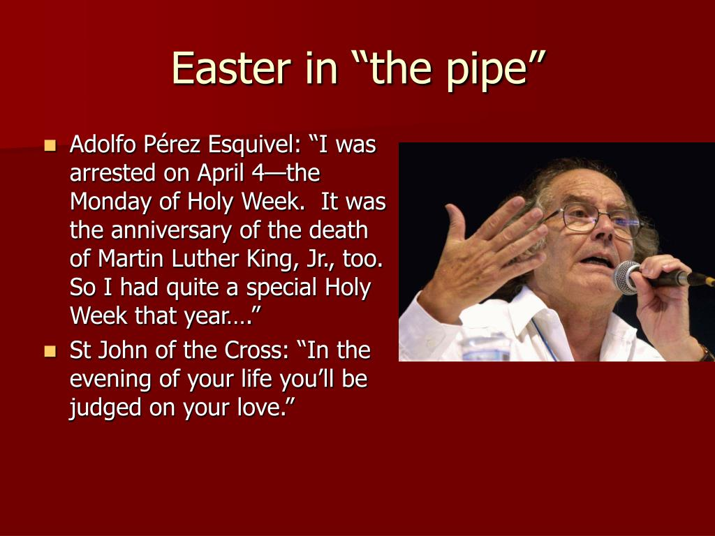 "Easter in ""the pipe"""