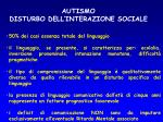 autismo disturbo dell interazione sociale