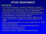 studi biochimici