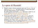 le opere di haendel