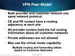 vpn peer model