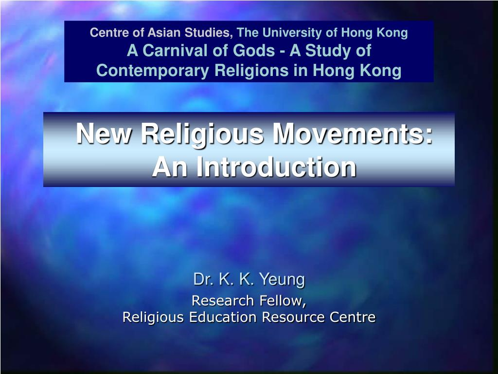 new religious movements an introduction l.