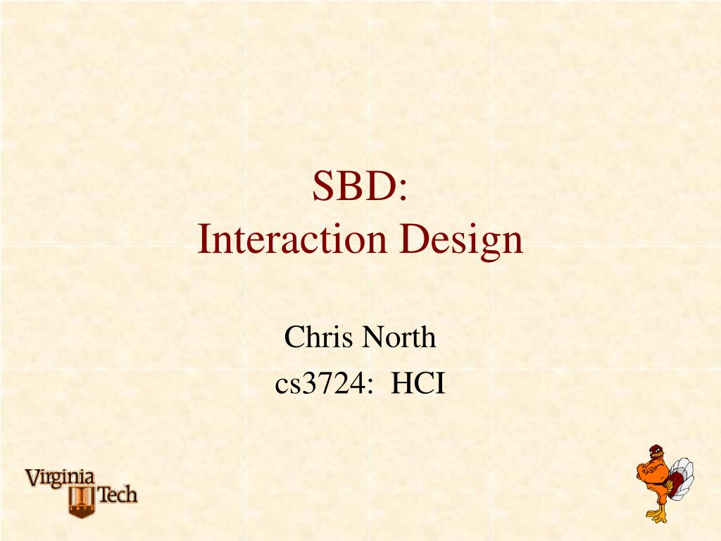 sbd interaction design l.