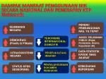 dampak manfaat penggunaan nik secara nasional dan penerapan ktp elektronik