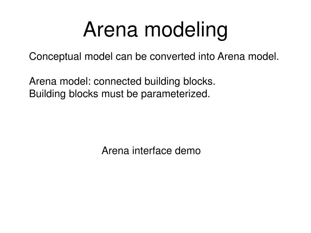 arena modeling l.