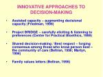 innovative approaches to decision making14